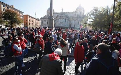 """Roma, sindacati in piazza: alle 14 manifestazione """"Mai più fascismi"""""""