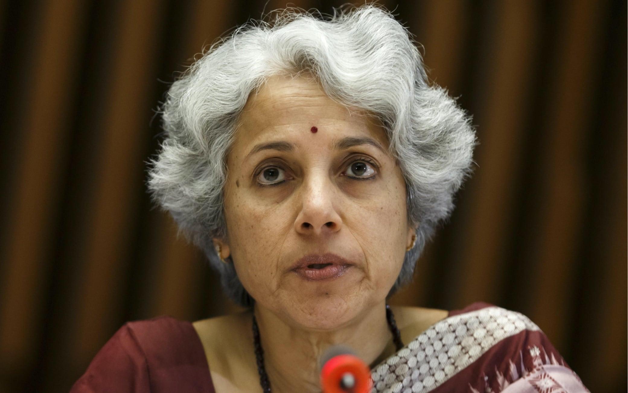 Soumya Swaminathan ricercatrice capo dell'Oms