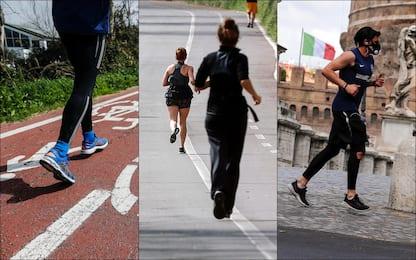 Covid, col lockdown in aumento ricerche online su prodotti per runner