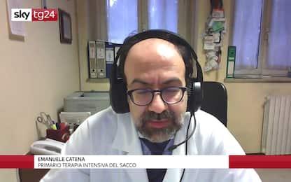 """Covid, Catena (Sacco) a Sky TG24: """"Rallenta pressione su ps"""""""