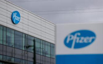 A view of the Pfizer production site in Puurs near Antwerp, Belgium, 16 November 2020. ANSA/STEPHANIE LECOCQ