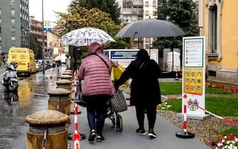 Il Pio Albergo Trivulzio, struttura che opera nei settori dell'assistenza socio sanitaria per gli anziani e dell'educazione dei minori in difficoltà a Milano, 15 ottobre 2020.ANSA/Mourad Balti Touati