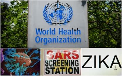 Covid, Ebola, Zika: le 20 epidemie e pandemie monitorate dall'Oms