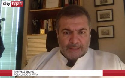 """Bruno a Sky TG24: """"Vaccinazioni? Siamo in ritardo, ma sono ottimista"""""""