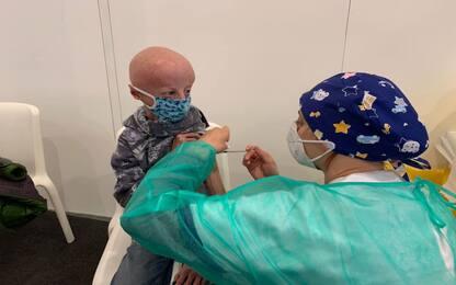 Covid, Sammy Basso ha ricevuto la prima dose di vaccino