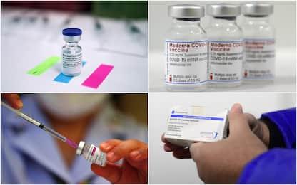 Covid, i 4 vaccini e gli effetti collaterali dichiarati dall'Aifa