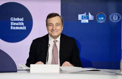Global Health Summit, Draghi: via barriere commerciali ingiustificate