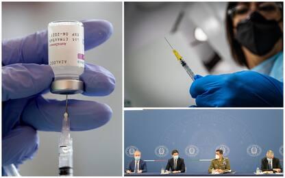 Vaccini, la circolare del ministero: AstraZeneca e J&J solo a over 60