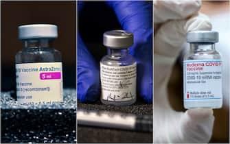 I tre tipi di vaccini anti-Covid a due dosi: Astrazeneca, Pfizer, Moderna