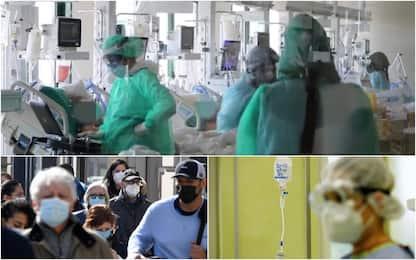 Covid, l'andamento della pandemia in Italia: parametri in discesa