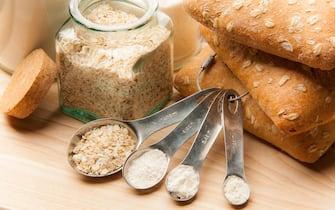 Panes integrales con avena