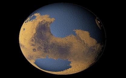 Su Marte scorrevano fiumi simili al Po: lo dice uno studio