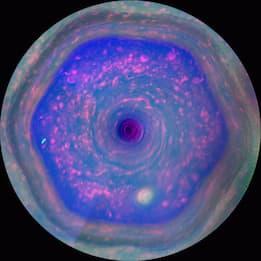 Risolto il mistero dell'esagono di Saturno: lo studio