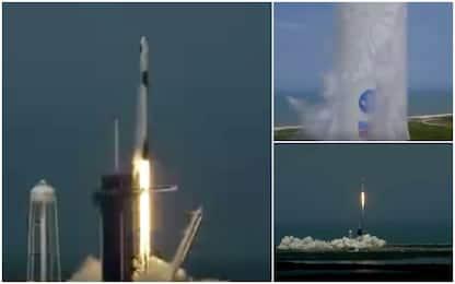 Space X, lanciata Crew Dragon: Usa nello Spazio dopo 9 anni. VIDEO