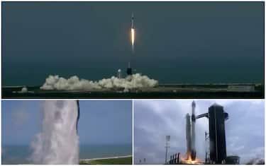 space x lancio preparativi