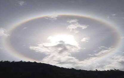 Alone solare, l'affascinante fenomeno ottico nei cieli dell'Alto Adige