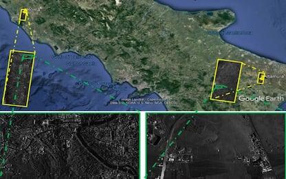 Roma e Altamura fotografate insieme dal nuovo satellite Cosmo SkyMed