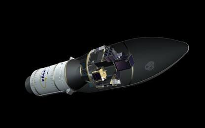 Il lanciatore europeo Vega porterà in orbita 53 mini satelliti