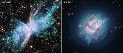 Nasa, dal telescopio Hubble due nuove immagini mozzafiato del cosmo