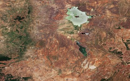 Kenya, la Great Rift Valley fotografata dai satelliti dell'Esa