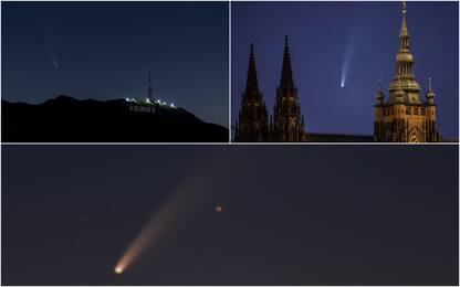La cometa Neowise incanta il mondo. LE FOTO