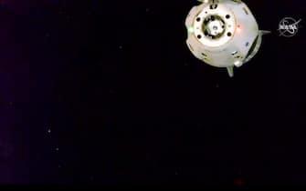 Un velivolo SpaceX in missione nello spazio