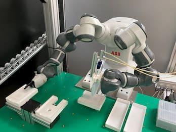 Coronavirus, un robot velocizzerà l'analisi dei test sierologici