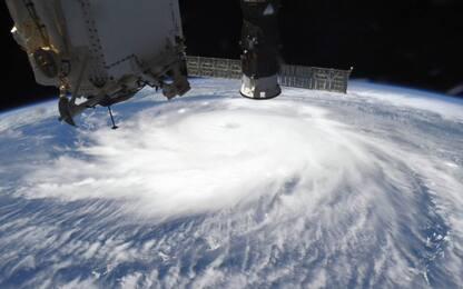 Nasa, l'occhio dell'uragano Laura negli Usa visto dallo spazio