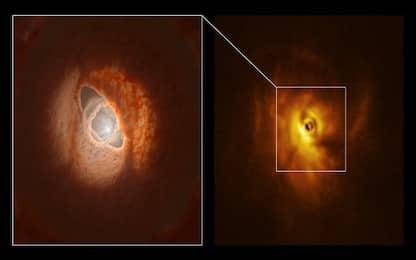 """Osservato GW Orionis, il primo sistema planetario """"multipiano"""""""