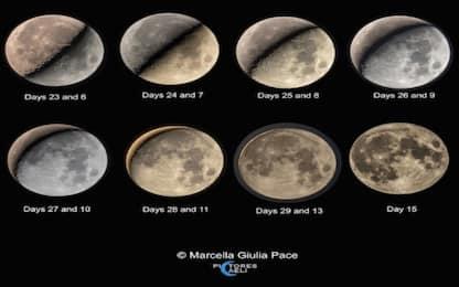 Mese sinodico della Luna, la foto del giorno della Nasa parla italiano