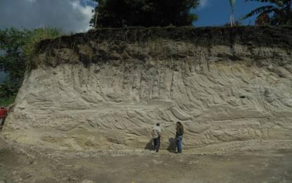 Scoperta data di un'eruzione vulcanica che sconvolse la civiltà Maya