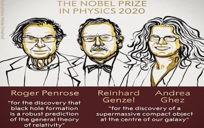 A Penrose, Genzel e Ghez il Premio Nobel per la Fisica 2020
