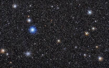 Eso, un ammasso di galassie ai margini della Grande Nube di Magellano