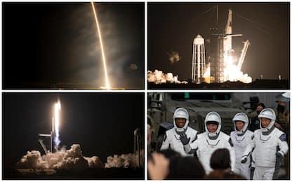 Crew Dragon, la navicella di SpaceX è stata lanciata verso l'Iss. FOTO