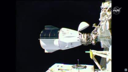 La capsula Crew Dragon si è agganciata alla Stazione Spaziale
