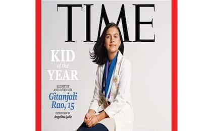 """Time, la baby scienziata Gitanjali Rao nominata """"Kid of the Year"""""""