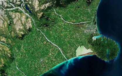 Nuova Zelanda, la penisola di Banks fotografata dai satelliti
