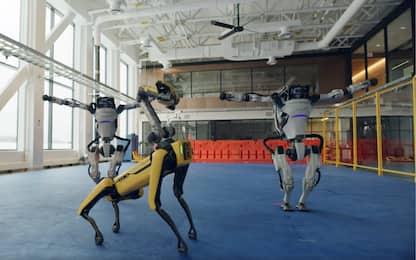 I robot ballerini di Boston Dynamics augurano buon 2021. VIDEO