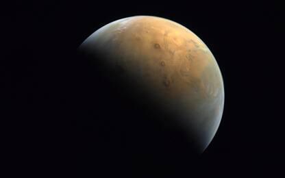 Marte, ecco la prima immagine scattata dalla sonda Hope