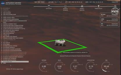 Marte, atterrato il rover Perseverance: cercherà tracce di vita