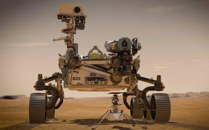 Marte, i primi metri del rover Perseverance. VIDEO