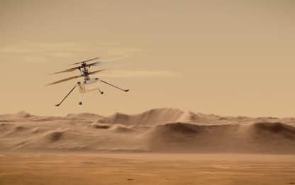 Marte, a metà aprile il primo volo del drone-elicottero Ingenuity