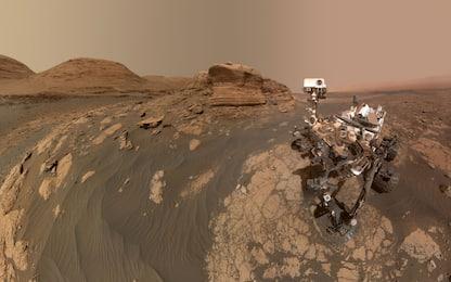 "Marte, il ""selfie"" del rover Curiosity davanti a Mont Mercou"