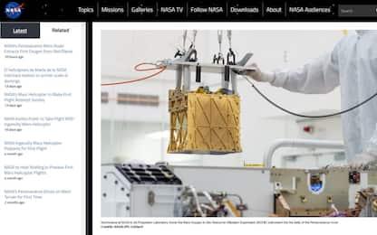 Marte, Perseverance trasforma l'anidride carbonica in ossigeno
