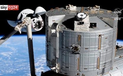 SpaceX, Crew Dragon 2 attracca alla Stazione Spaziale Internazionale