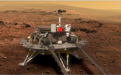 Marte, il rover cinese Zhurong è sul Pianeta Rosso