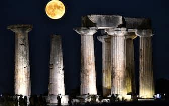 Luna blu in Grecia