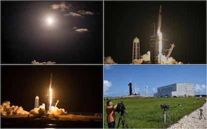 SpaceX: partita la missione Inspiration4, primo volo di soli civili