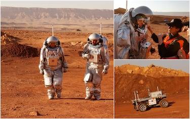 hero agenzia spaziale deserto nagev israele getty