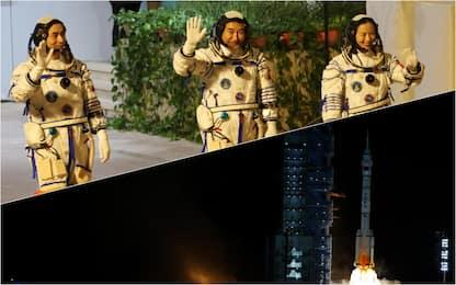 Shenzhou 13, la navetta cinese si è agganciata alla stazione spaziale